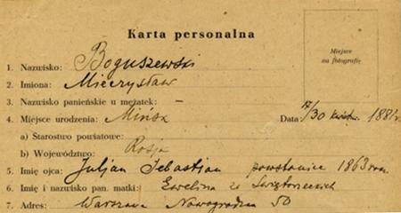 Julian Sebastian Boguszewski powstaniec 1863