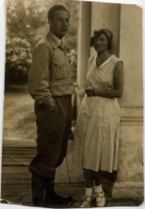 Tadeusz Boguszewski i Zofia Władyczańska