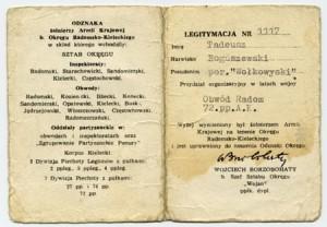 Tadeusz Boguszewski - Obwód Radom 72 pp. AK