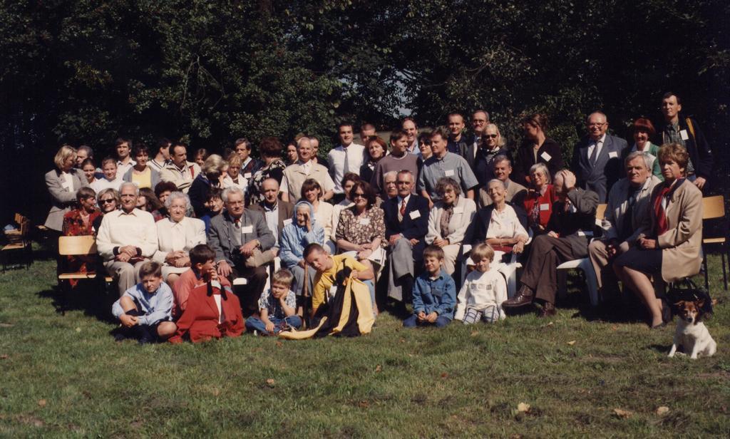 Zjazd rodziny Boguszewskich, Kozienice 1998