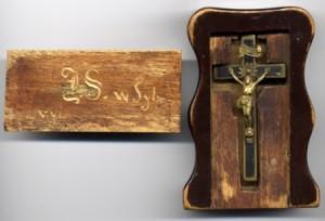 Krzyż Juliana Sebastiana Boguszewskiego - pamiątka zesłania na Syberię po Powstaniu Styczniowym